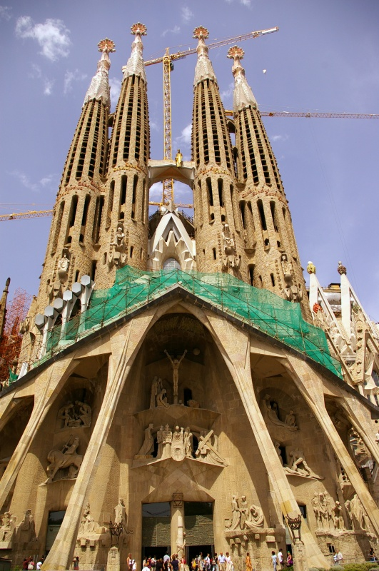 La sagrada familia barcelona spain teh yen peng for La sagrada familia barcelona spain