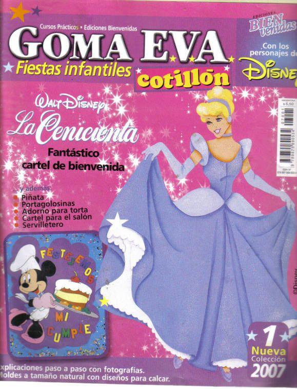 REVISTAS DE MANUALIDADES GRATIS: Goma Eva: fiestas infantiles
