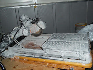 Picture of Wet Saw Used by Professional Tile Installers