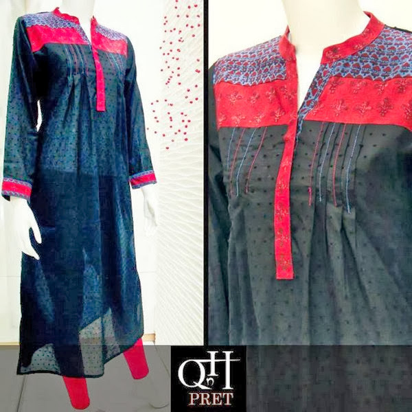 QnH Pret Clothing New Stylish Fall Winter Outfits 2013-2014 For Women And Girls Fashion