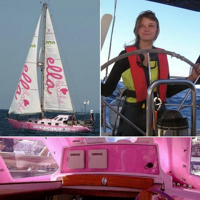 Джессика Уотсон - самая юная мореплавательница, совершившая кругосветку