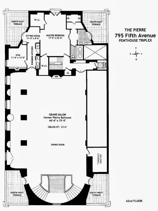 Gimnasio Baños Jordan:Tu habitación con vistas: Hotel Pierre de Nueva York: una historia de