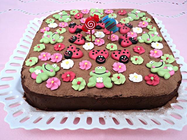 Tarta chocolate coca cola cumpleaños