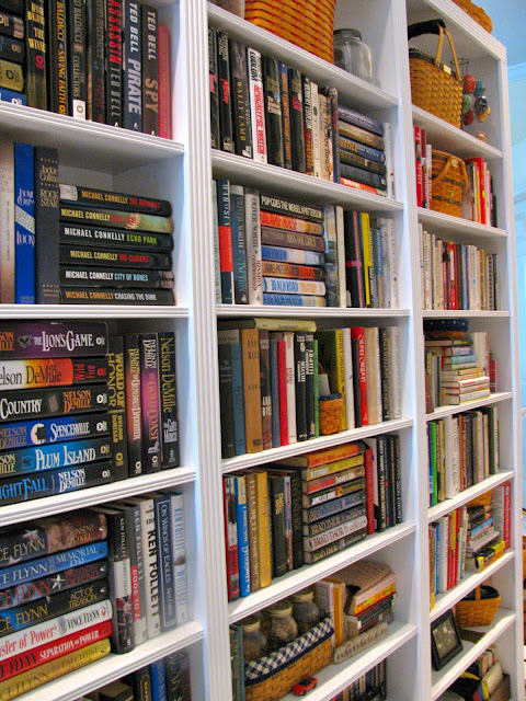May Days Build A Hallway Bookcase