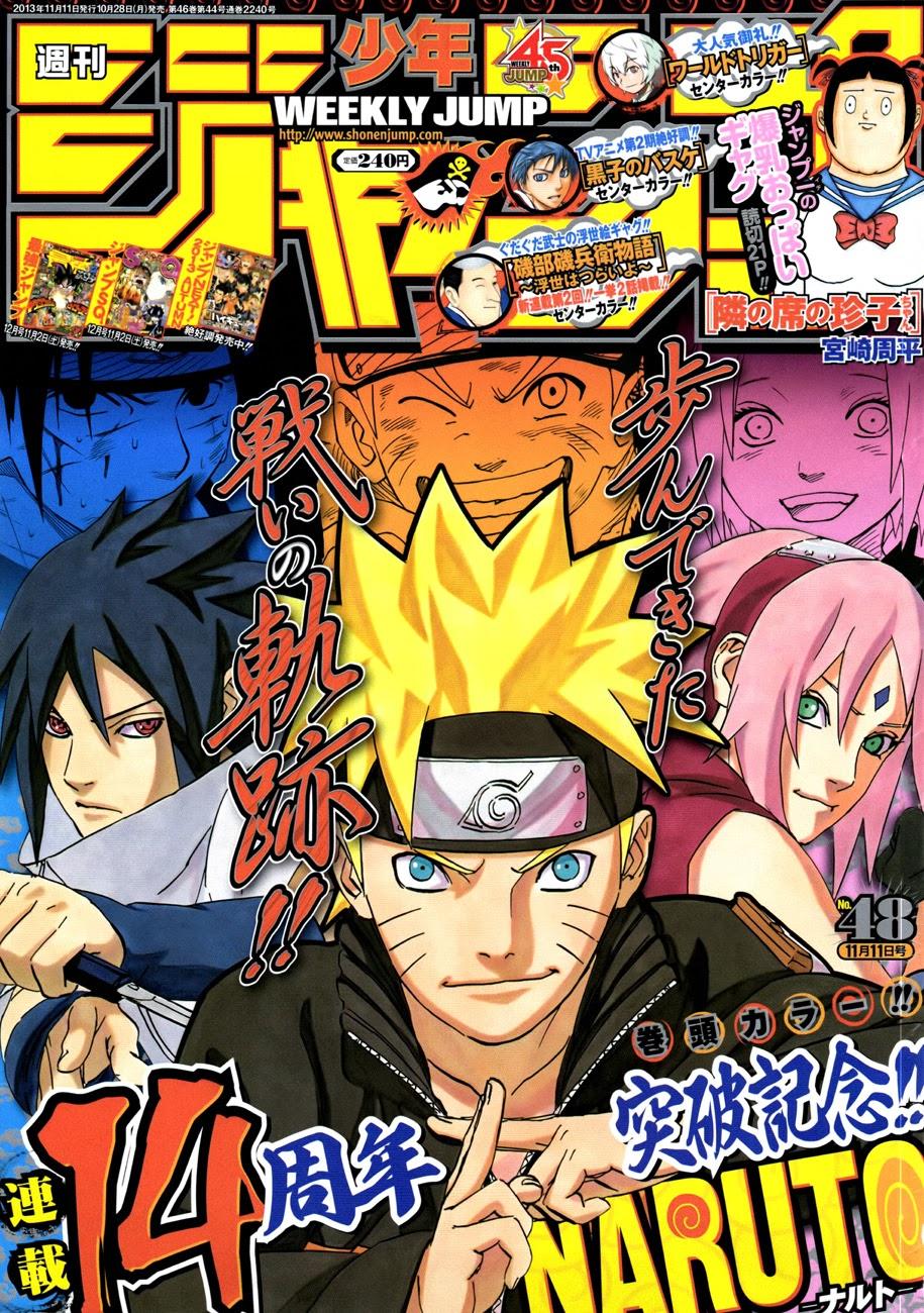 Naruto chap 652 Trang 1