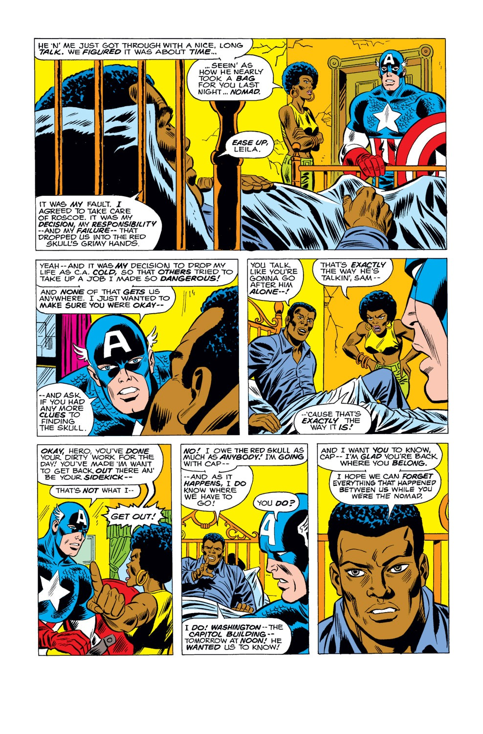 Captain America (1968) Issue #184 #98 - English 6