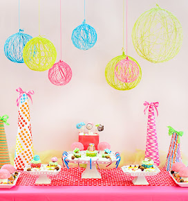 Idea para decorar tu fiesta...