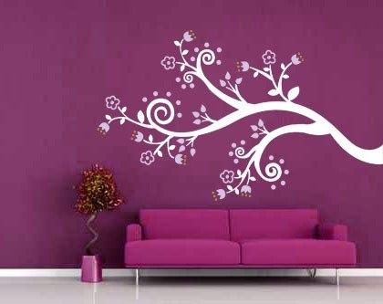 Como decorar las paredes de mi casa decoraciones en piura for Vinilos decorativos recamaras