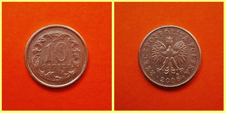 0.10 Zloty Polonia