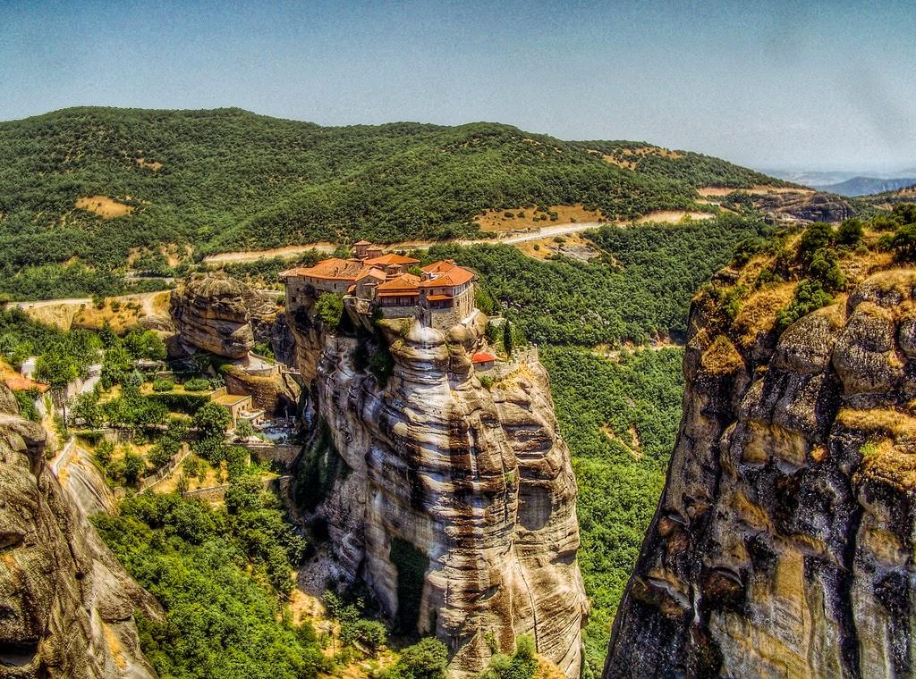 Los monasterios de Meteora – Grecia