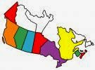 Provinces we have visited in Canada
