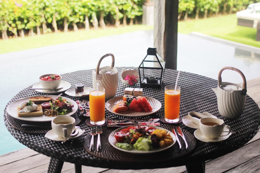 frühstück essen bali