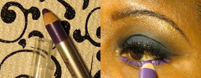 Smokey eyes com glitter