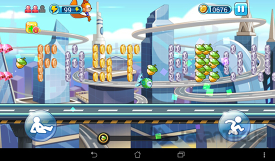 Download Game UC Crazy Run