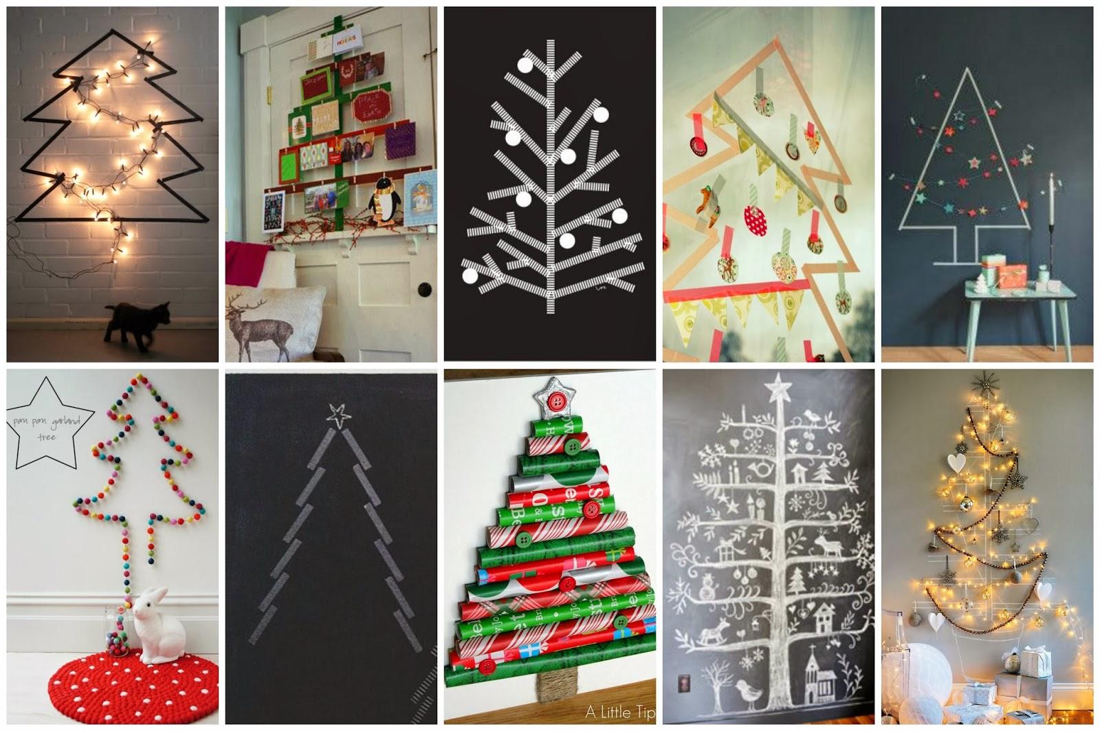 Lluvia de ideas recursos 30 ideas diy para crear rboles - Arboles de navidad creativos ...
