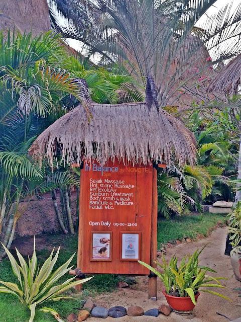 Novotel Lombok - In Balace Spa | www.meheartseoul.blogspot.com