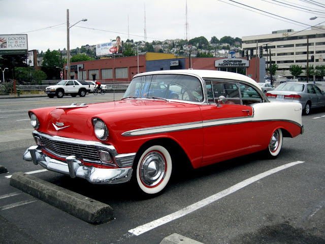 THE STREET PEEP: 1956 Chevrolet Bel Air