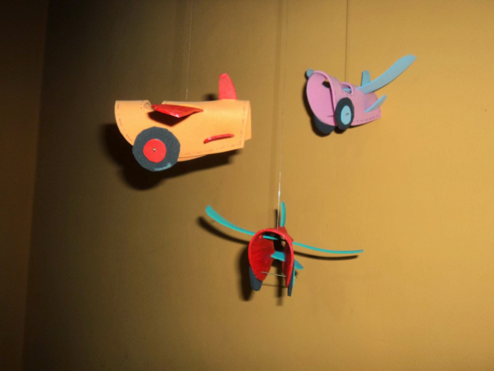 Goma Eva, 3D, Planeadores, Aviones