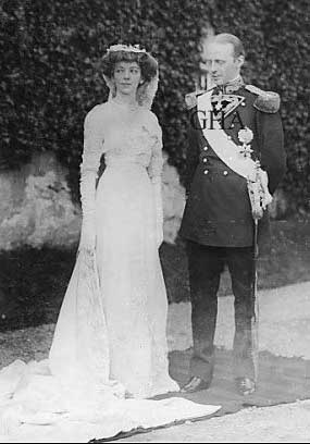 Mariage de Dom Miguel de Bragance et d'Anita Stewart