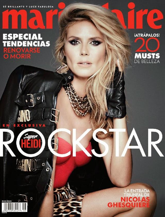 Heidi Klum Marie Claire Latin America