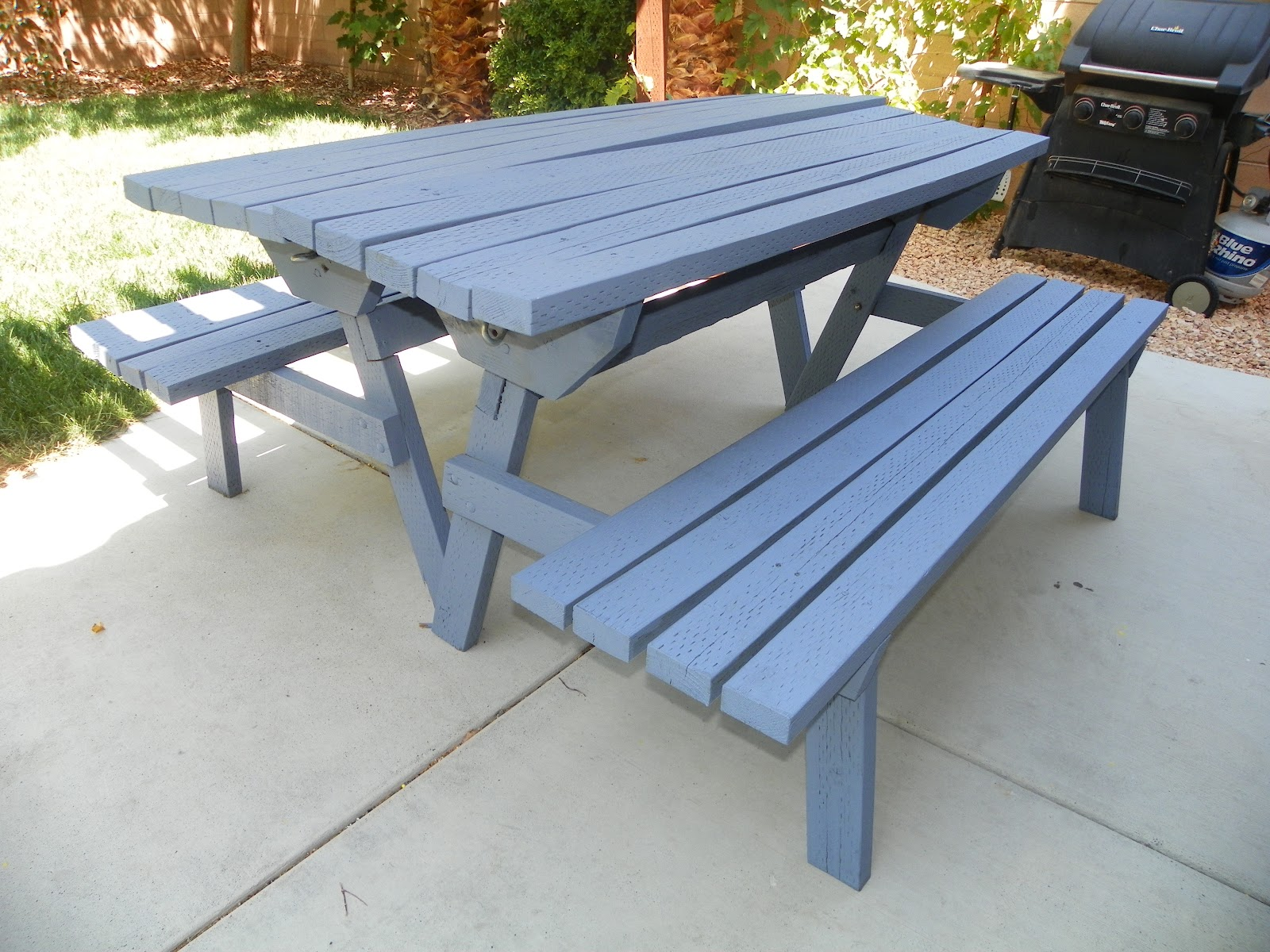 Mom The Builder Convertible Picnic Table Benches