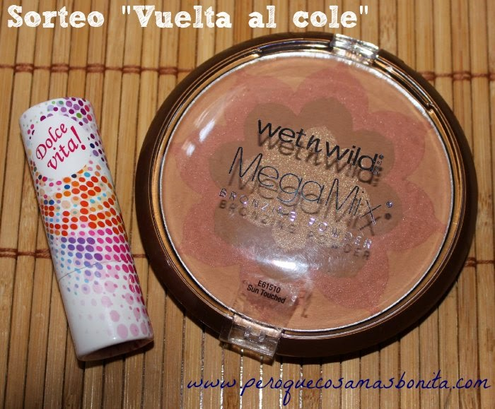 "Sorteo ""Vuelta al cole"" 2014"
