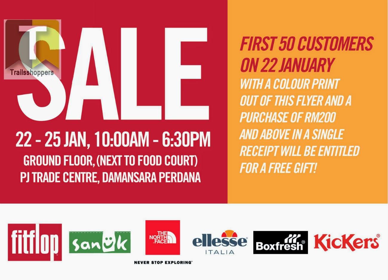 Branded Warehouse Sale pj trade centre damansara perdana
