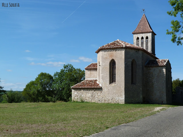 Randonnée dans le lot Cahors église