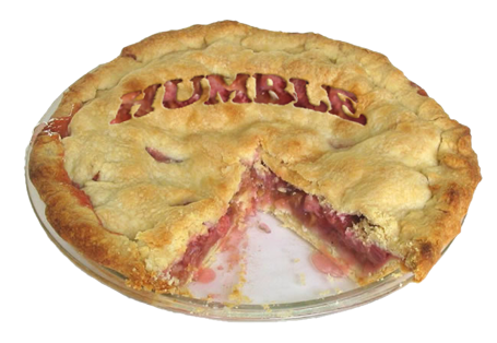eating humble pie