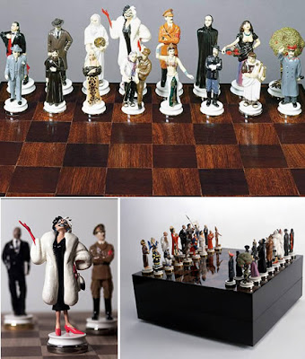 GOOD AND EVIL CHESS SET