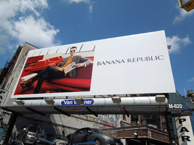 Banana Republic FW 2012 billboard NYC