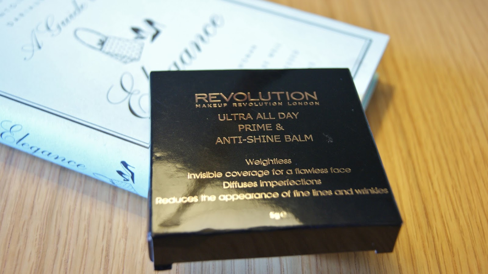 Makeup Revolution All Day Prime & Anti-Shine Balm Packaging