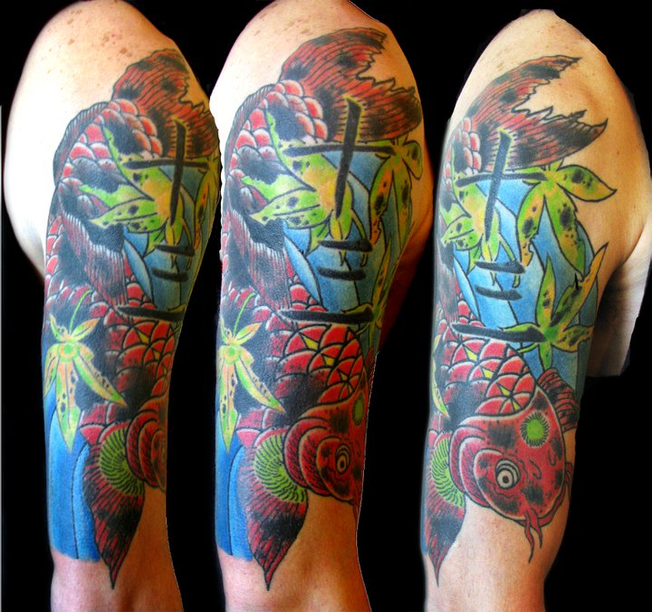 Blood and iron tattoo for Tattoo shops in greeley