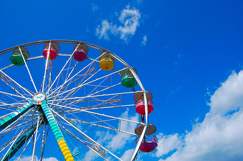 Ferris wheel photography - Mobile wallpapers