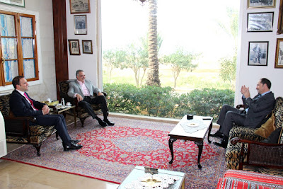 أرسلان يستقبل سفيري الجزائر واليابان ومحافظ بعلبك في خلدة