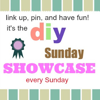 DIY Sunday Showcase Linky Party every Sunday at The Interior Frugalista