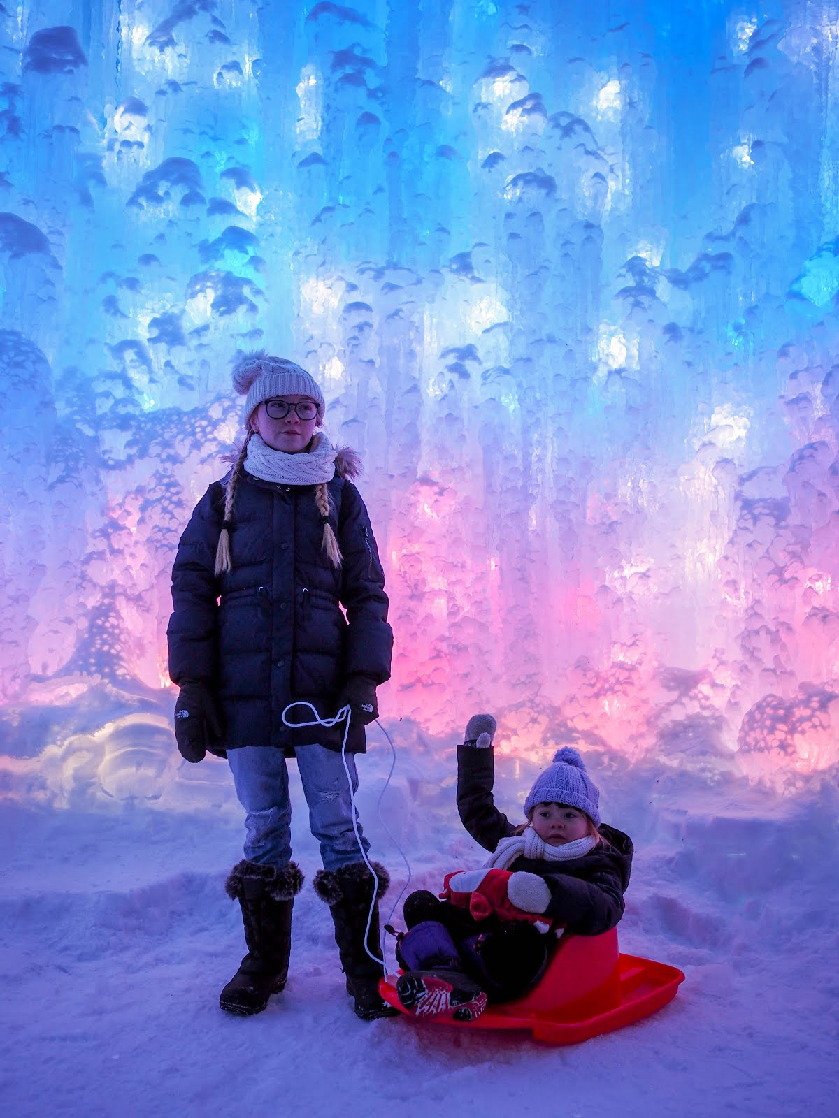 Ice Castles Day & Night