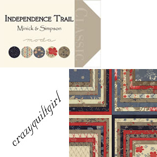 Moda INDEPENDENCE TRAIL Quilt Fabric by Minick & Simpson