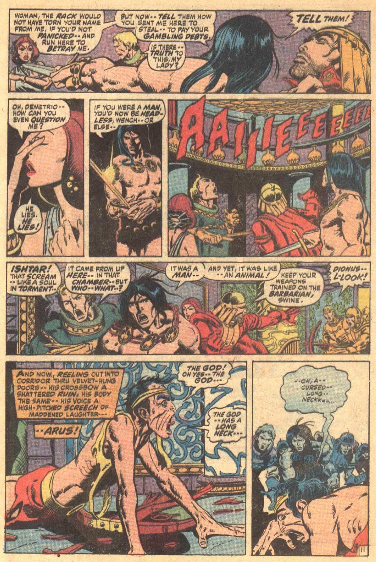 Conan the Barbarian (1970) Issue #7 #19 - English 12