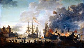 Galileu olhou viu e anotou  - Página 30 Hernando_cortez_burningboat