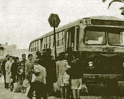 Antigua parada del bus Línea Nº 56