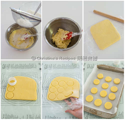 牛油酥餅製作圖 Shortbread Cookies Procedures02