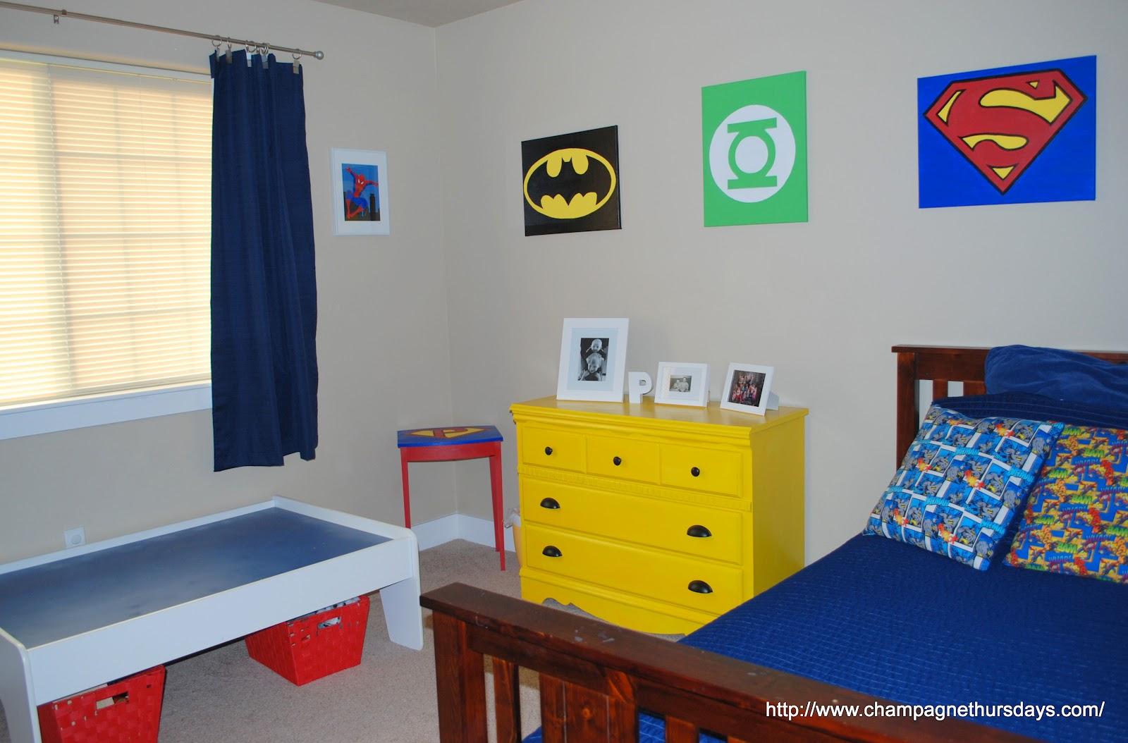 superhero room superhero room