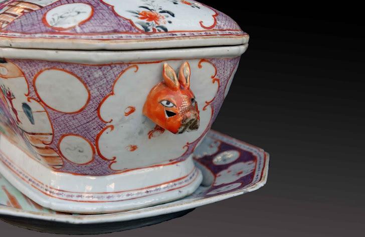 Detalle Sopera china S.XVIII
