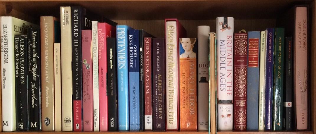 emma watson bookshelf