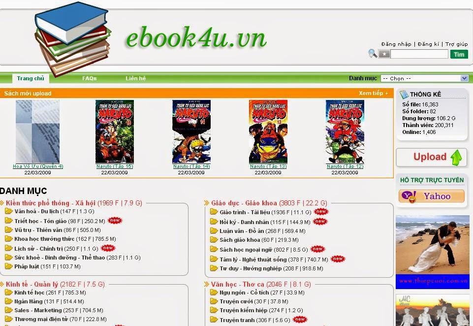thiết kế web nhà sách giá rẻ