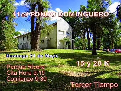 Fondo dominguero en parque Rivera (31/may/2015)