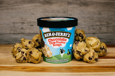 HELADO BEN & JERRY'S COOKIE DOUGH
