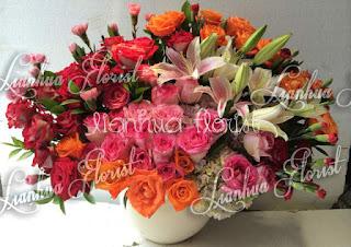 toko bunga dijakarta barat, toko bunga dijakarta selatan, toko bunga di jakarta utara, bunga meja segar dan cantik,