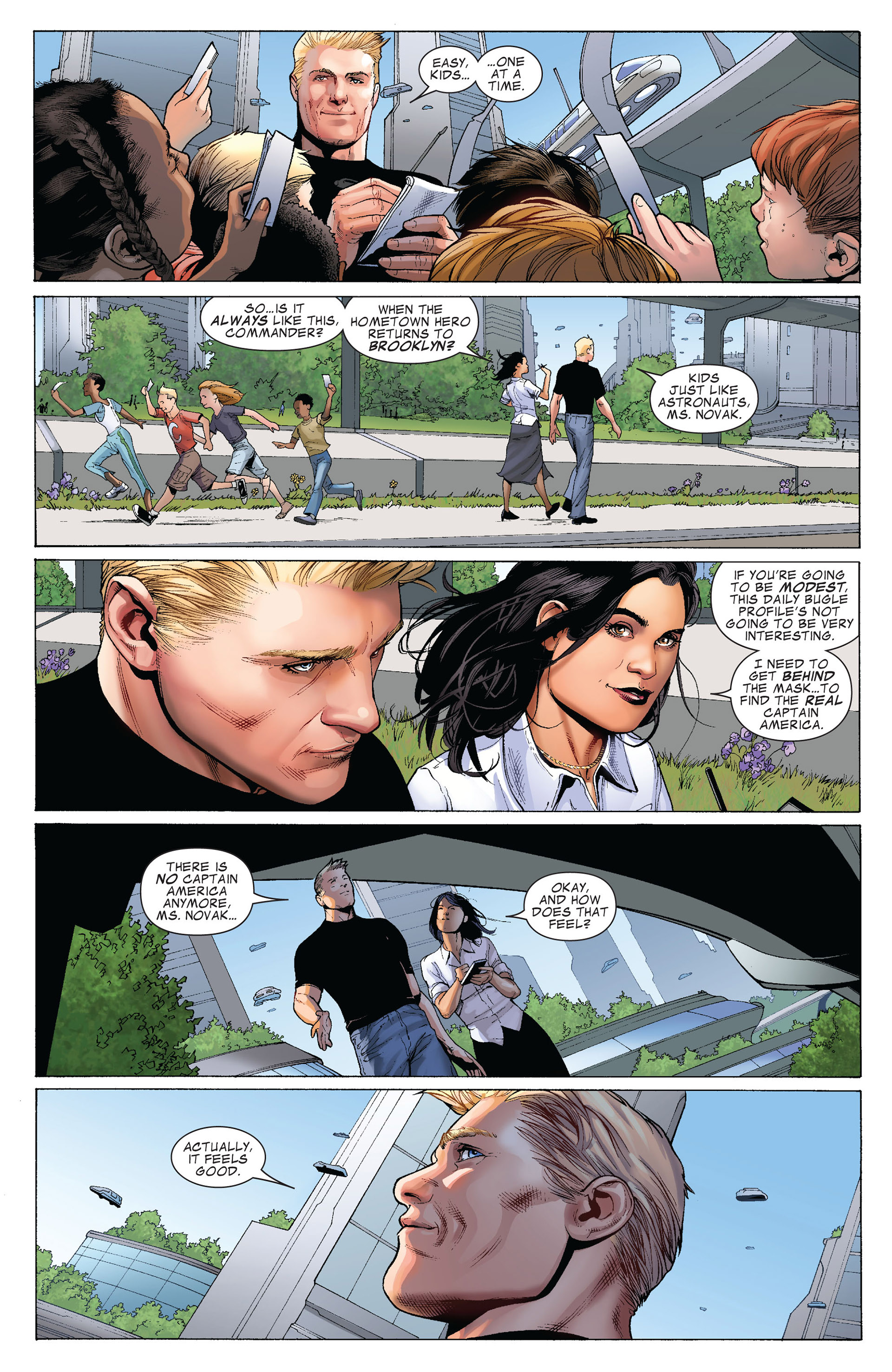 Captain America (2011) Issue #4 #4 - English 8